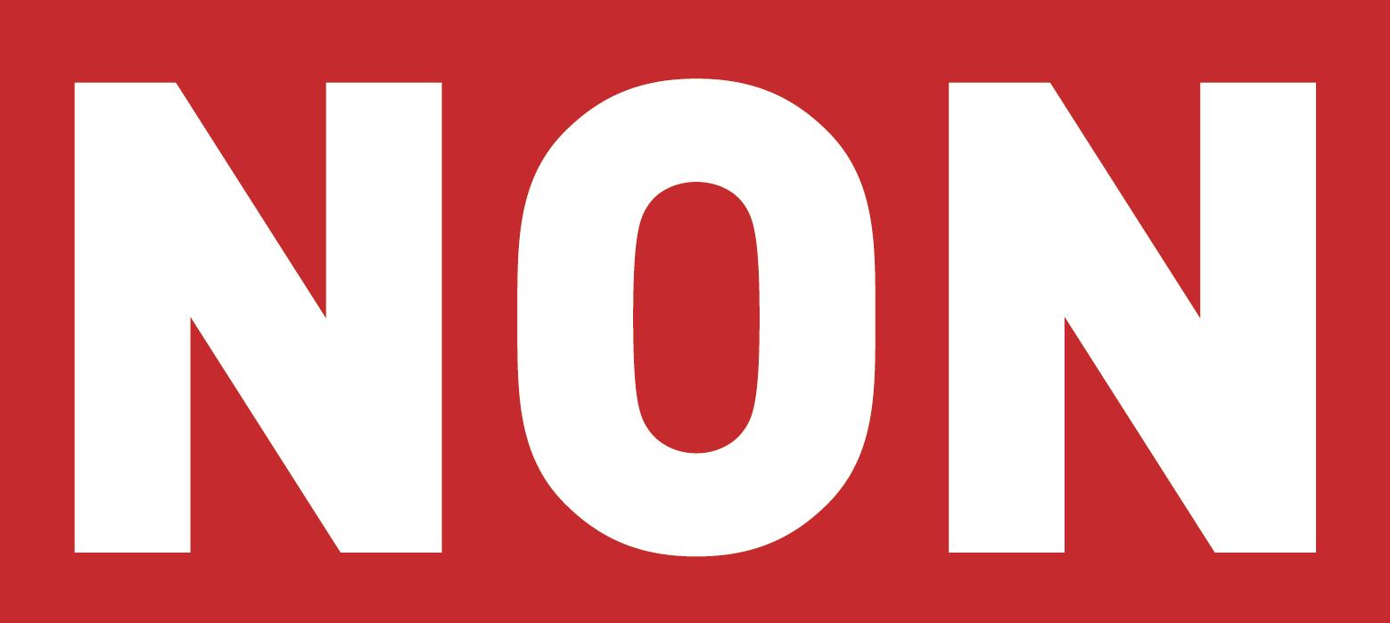 Résultats de recherche d'images pour «non»